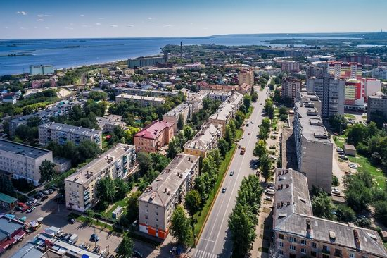Syzran, Russia - the view from above, photo 13