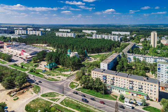 Syzran, Russia - the view from above, photo 20