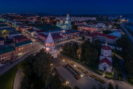 Syzran, Russia - the view from above, photo 22