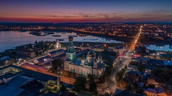 Syzran, Russia - the view from above, photo 23