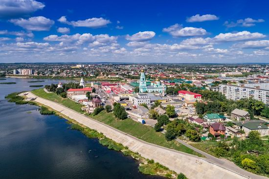 Syzran, Russia - the view from above, photo 3