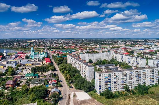 Syzran, Russia - the view from above, photo 7