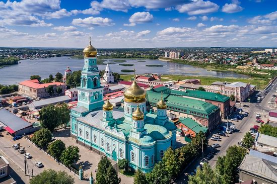 Syzran, Russia - the view from above, photo 9