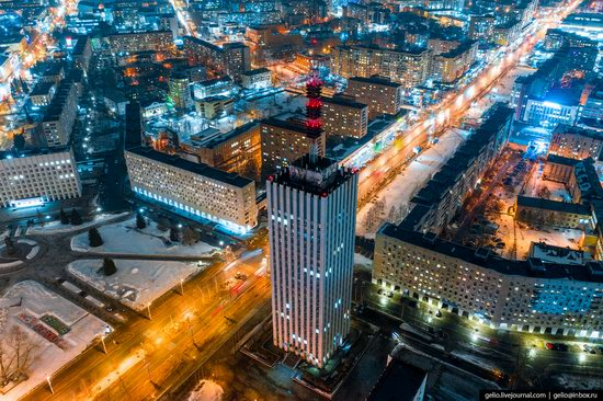 Arkhangelsk, Russia from above, photo 10