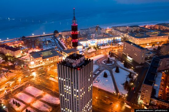 Arkhangelsk, Russia from above, photo 11