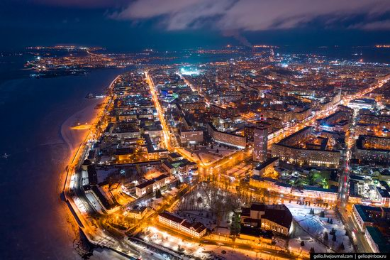 Arkhangelsk, Russia from above, photo 13