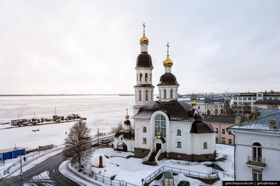 Arkhangelsk, Russia from above, photo 14