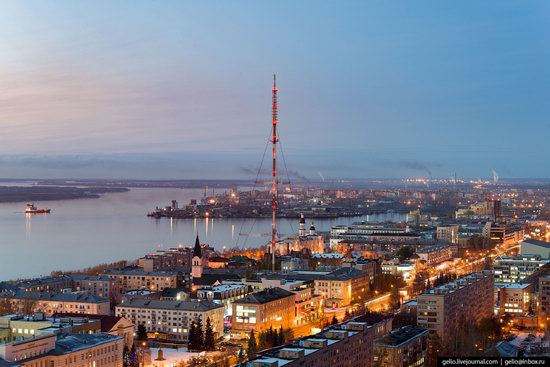Arkhangelsk, Russia from above, photo 15