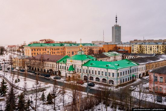 Arkhangelsk, Russia from above, photo 6