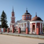 Church of the Icon of Our Lady of Akhtyrka in Moscow Oblast