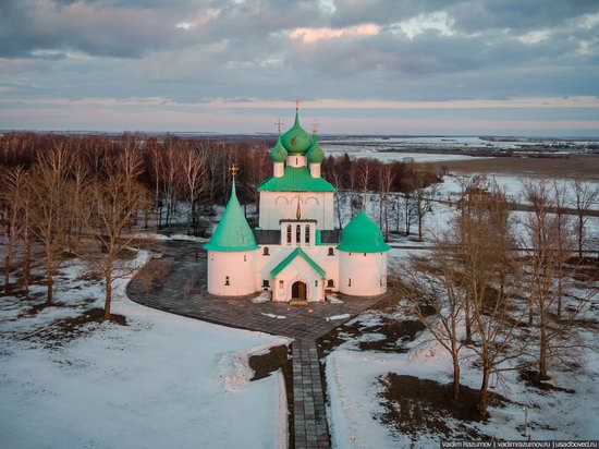 Church of St. Sergius of Radonezh on the Kulikovo Field, Tula Oblast, Russia, photo 1
