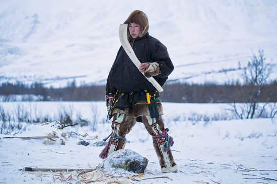 Life of Reindeer Herders of the Polar Urals, Russia, photo 10