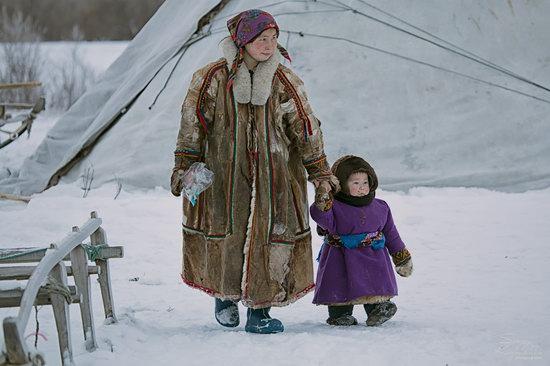 Life of Reindeer Herders of the Polar Urals, Russia, photo 14