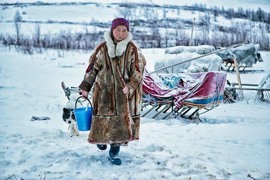 Life of Reindeer Herders of the Polar Urals, Russia, photo 15