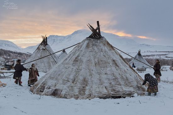 Life of Reindeer Herders of the Polar Urals, Russia, photo 2