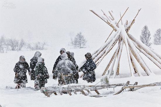 Life of Reindeer Herders of the Polar Urals, Russia, photo 21