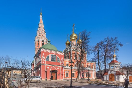 The Resurrection Church in Kadashi Sloboda, Moscow, Russia, photo 1