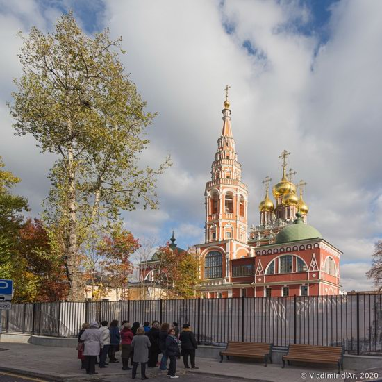 The Resurrection Church in Kadashi Sloboda, Moscow, Russia, photo 3