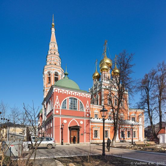 The Resurrection Church in Kadashi Sloboda, Moscow, Russia, photo 5
