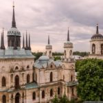 Pseudo-Gothic Vladimirskaya Church in the Bykovo Estate