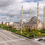 "Mosque ""Heart of Chechnya"" in Grozny"
