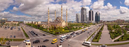 Mosque Heart of Chechnya in Grozny, Russia, photo 14