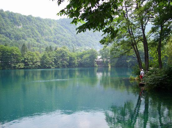 Blue Lake, Russia