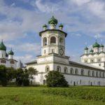The Nikolo-Vyazhischi Convent near Veliky Novgorod