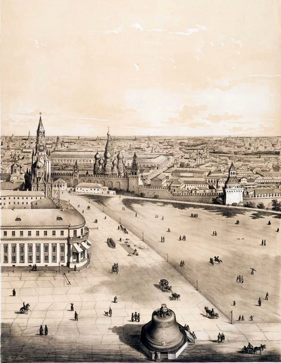 The Panorama of Moscow, Russia in 1847, picture 3