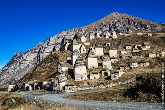 The City of the Dead in Dargavs, North Ossetia, Russia, photo 1