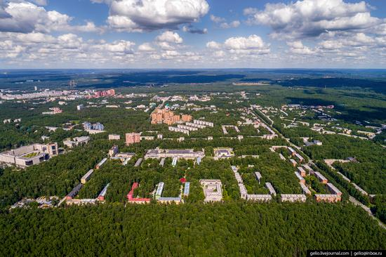 Novosibirsk Akademgorodok, Russia - the scientific center of Siberia, photo 13