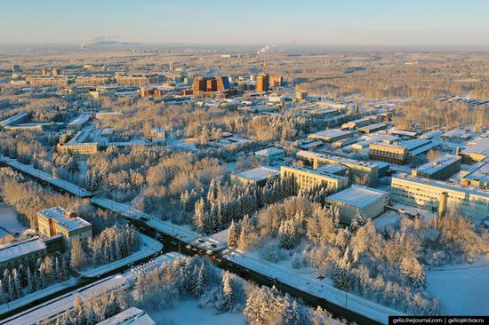 Novosibirsk Akademgorodok, Russia - the scientific center of Siberia, photo 7