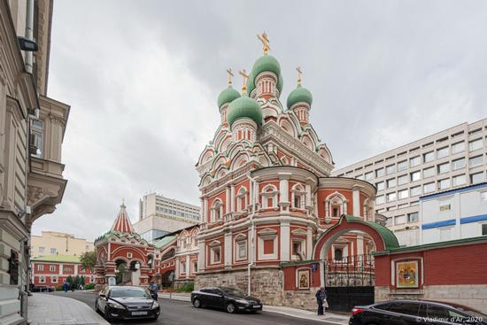Church of the Holy Life-Giving Trinity in Nikitniki, Moscow, Russia, photo 6