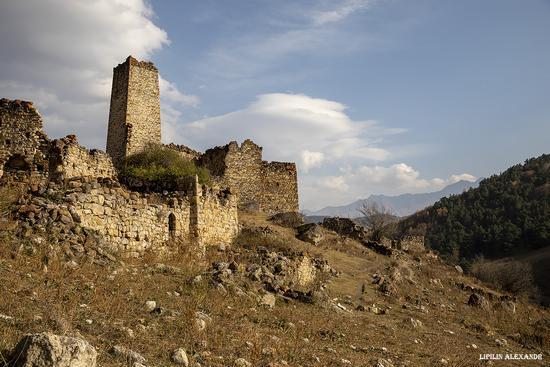 Medieval Tower Complex Egikal in Ingushetia, Russia, photo 11