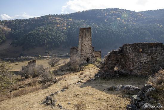 Medieval Tower Complex Egikal in Ingushetia, Russia, photo 14