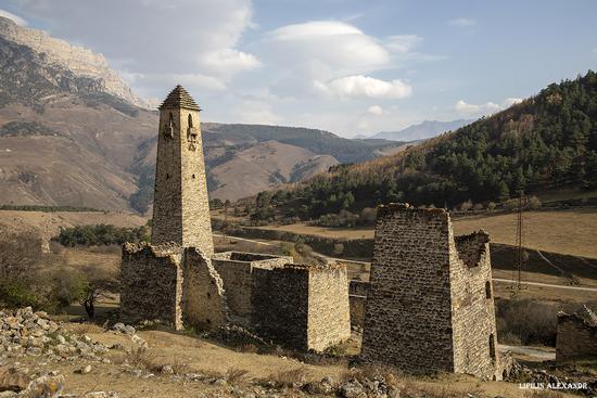 Medieval Tower Complex Egikal in Ingushetia, Russia, photo 16