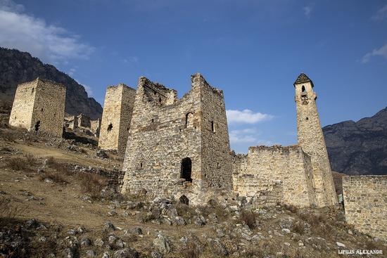 Medieval Tower Complex Egikal in Ingushetia, Russia, photo 17