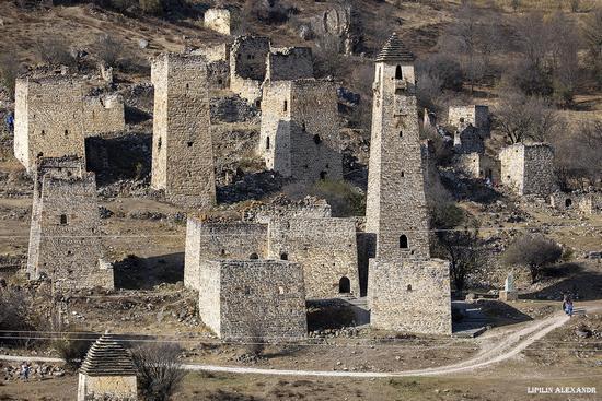 Medieval Tower Complex Egikal in Ingushetia, Russia, photo 5