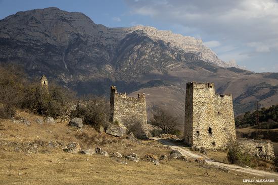 Medieval Tower Complex Egikal in Ingushetia, Russia, photo 9