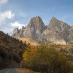 Amazing landscapes of mountainous Ingushetia
