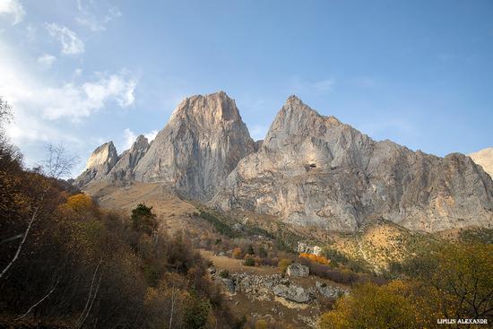 Amazing landscapes of mountainous Ingushetia, Russia, photo 12