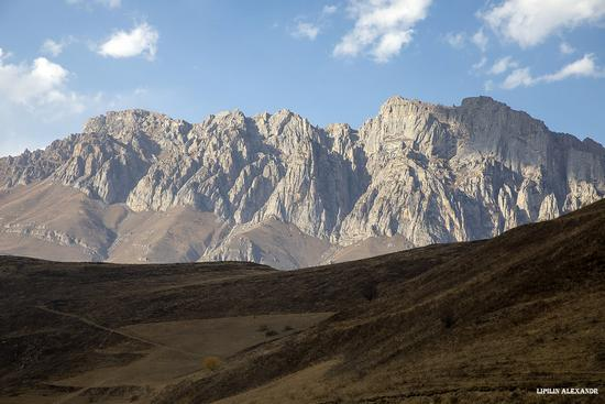 Mountain landscapes of the Republic of North Ossetia - Alania, Russia, photo 13