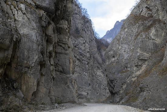 Mountain landscapes of the Republic of North Ossetia - Alania, Russia, photo 15