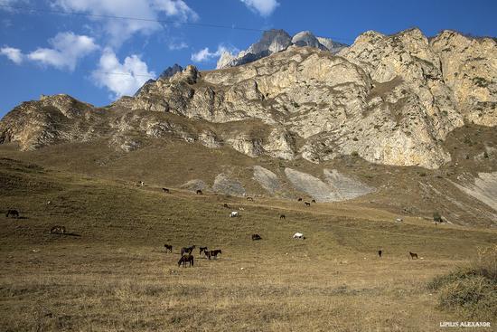 Mountain landscapes of the Republic of North Ossetia - Alania, Russia, photo 2