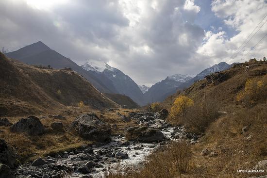 Mountain landscapes of the Republic of North Ossetia - Alania, Russia, photo 6
