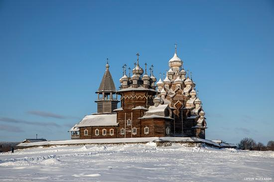 Snowy winter on Kizhi Island, Karelia, Russia, photo 14