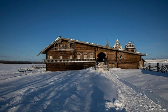 Snowy winter on Kizhi Island, Karelia, Russia, photo 15