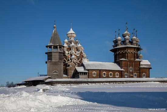 Snowy winter on Kizhi Island, Karelia, Russia, photo 18