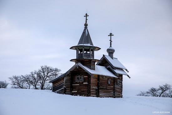 Snowy winter on Kizhi Island, Karelia, Russia, photo 5