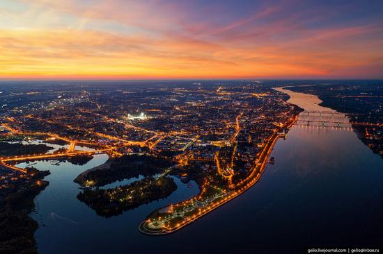 Yaroslavl, Russia from above, photo 1
